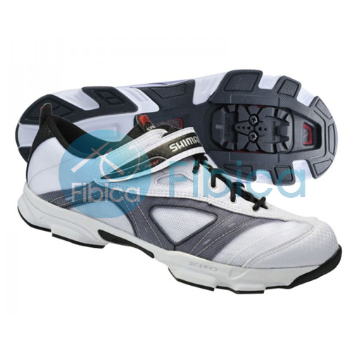 new shimano sh fn23 fitness cycling bike indoor shoes spd white ebay. Black Bedroom Furniture Sets. Home Design Ideas