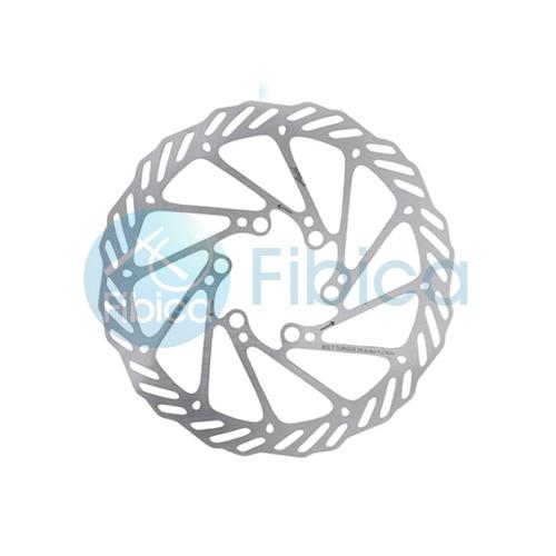 2 x 160mm Bike Bicycle Brake Disc Rotor 12 Bolt For Avid Clean Sweep G3CS Silver